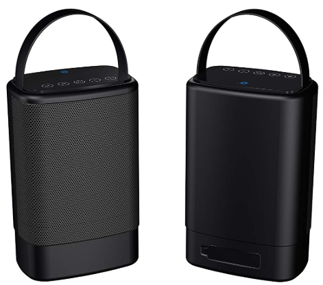 Sylvania Sp096-Black Portable Outdoor Dual Bluetooth Speaker