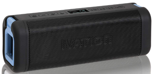Ivation Acoustix All-Terrain Wireless Bluetooth 4.0 Stereo Speaker with LCD Display