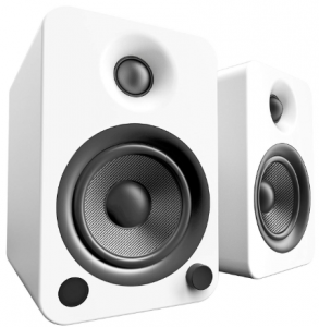 Kanto YU4 Powered Speakers with Bluetooth and Phono Preamp - Matte White