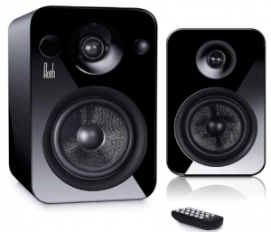 Roth OLI POWA5 Active Pair Of Monitor Speakers With Multiple Connectivity Options - Black