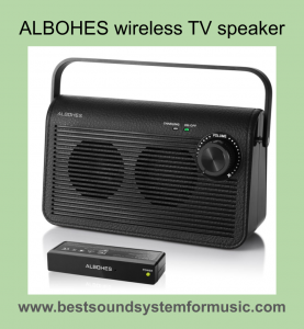 Best Wireless TV Speakers For Hard Of Hearing