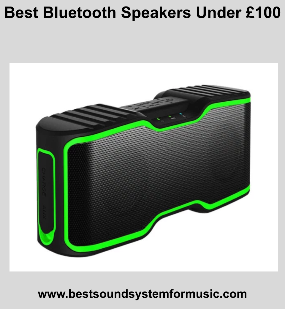 Best Bluetooth Speakers Under £100