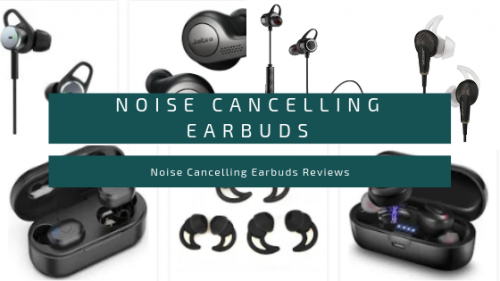 Noise Cancelling Earbuds 1