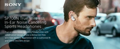 Sony WF SP700N Noise Cancelling Earbud