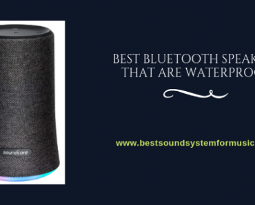 Best Bluetooth Speakers That Are Waterproof 3