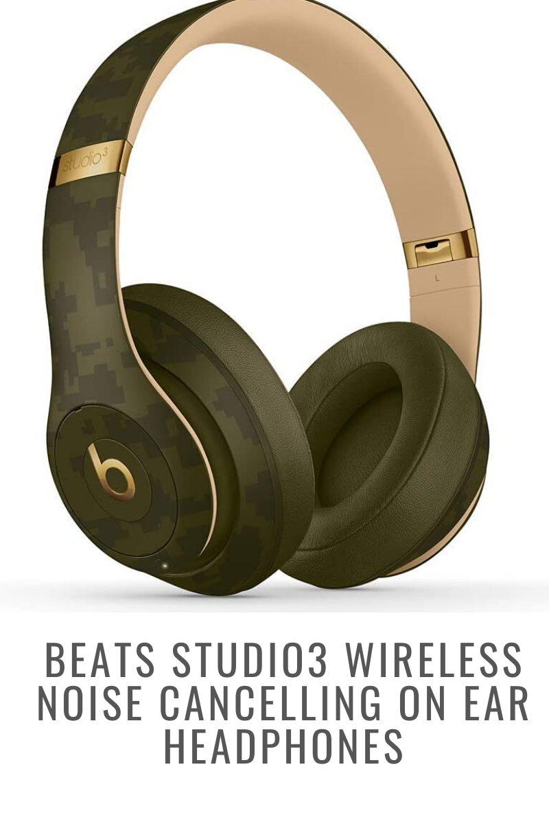 Beats studio3 wireless noise cancelling on ear headphones