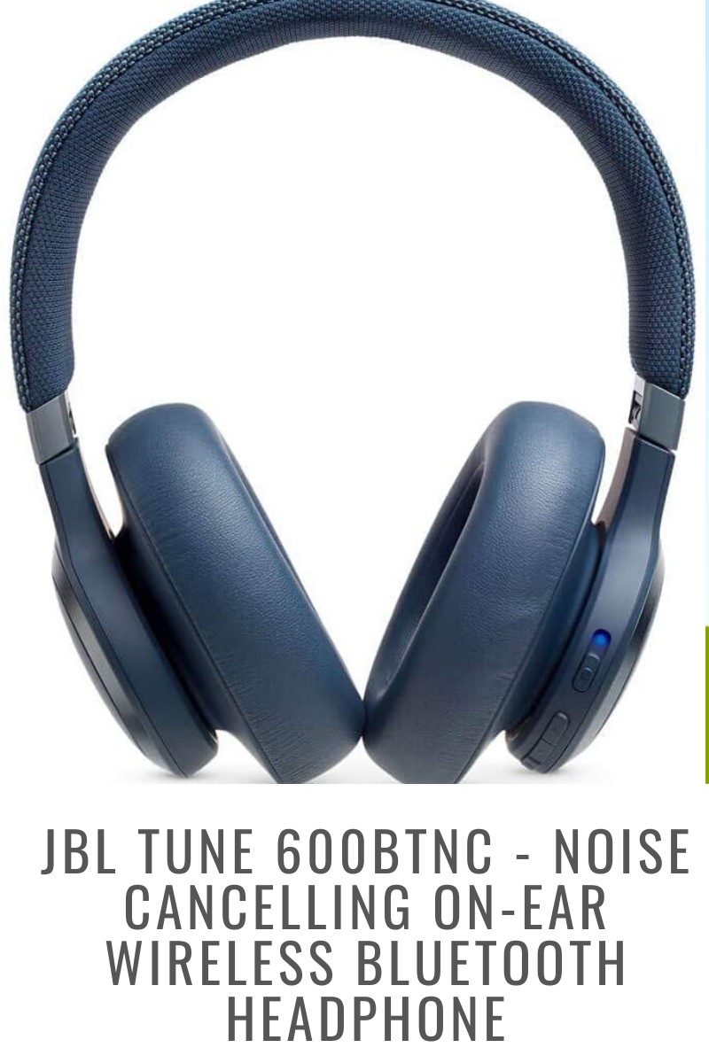 JBL TUNE 600BTNC - Noise Cancelling On-Ear Wireless Bluetooth Headphone