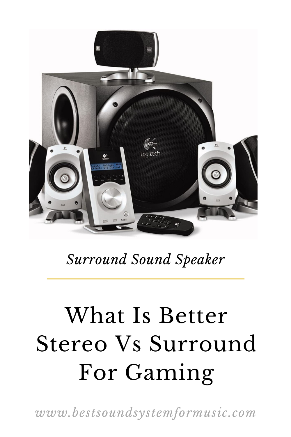 Surround Sound Speaker