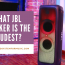 What JBL Speaker Is The Loudest?