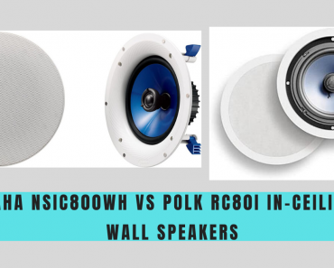 Yamaha NSIC800WH Vs Polk RC80i In-Ceiling/In-Wall Speakers
