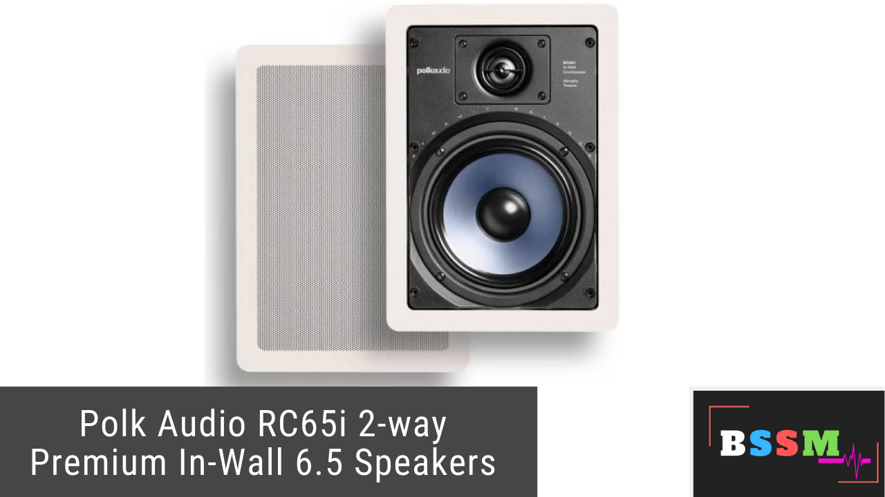 Polk Audio RC65i 2-way Premium In-Wall 6.5 Speakers Reviews