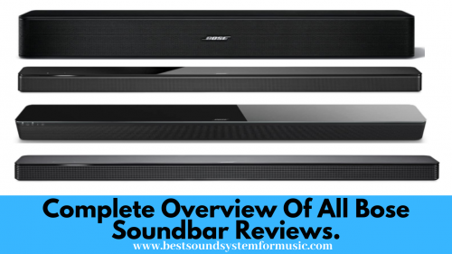 Bose soundbar reviews