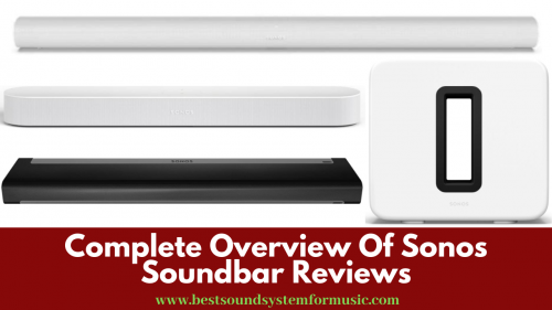 Sonos soundbar reviews