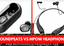 Soundpeats vs Mpow Headphones