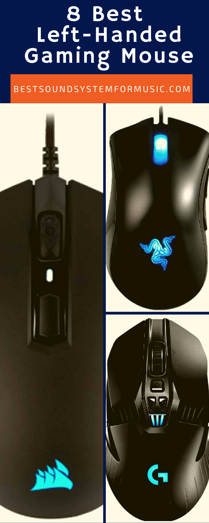 8 Best Left-Handed Gaming Mouse