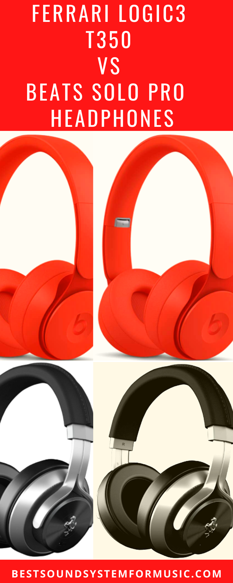 Ferrari Logic3 Vs Beats Headphones Review